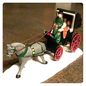 Heritage village Dept 56 horse and buggy